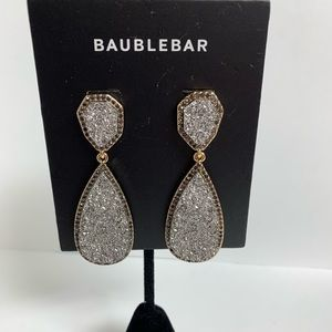 BaubleBar Silver And Gold Earrings